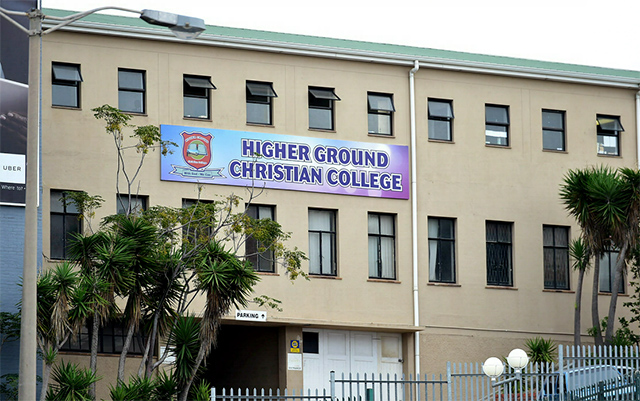 Higher Ground Christian College in Port Elizabeth is not registered as a school