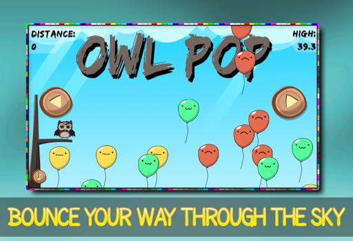 Owl pop - Balloon Bouncing