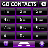 THEME GO CONTACTS AERO PURPLE