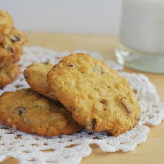 Chocolate-Oatmeal-Pecan Cookies