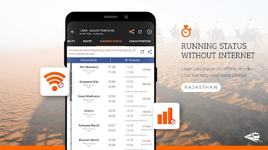 PNR Status, Train Running Status & Ticket Booking App Download For Android 4
