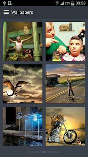 Funny Wallpapers- screenshot thumbnail