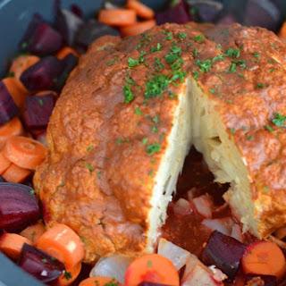 Whole Oven-Baked Cauliflower