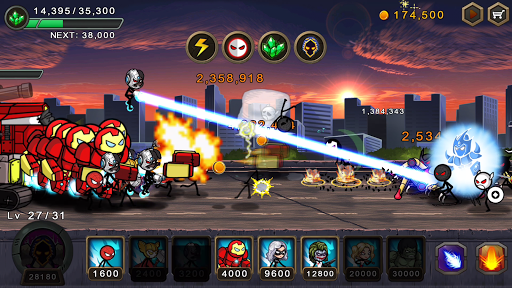 HERO WARS: Super Stickman Defense  screenshots 11