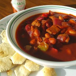 Best Damn Vegan Chili Ever.