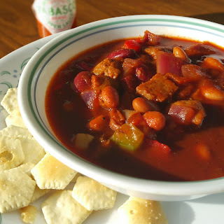 Best Damn Vegan Chili Ever.
