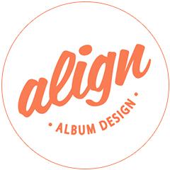 Align Album Design Logo