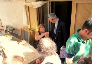 Photo: It.s1P25-141011rencontre 'mamma' fabriquant pâtes artisanales, sur rue, centre historique de Bari  IMG_6197