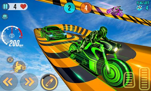 Mega Ramp Light Bike Stunts: New Bike Racing Games 2.0.0 screenshots 3