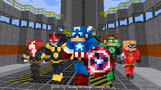 Superhero Craft mod for MCPE - náhled