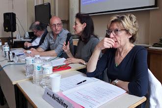 Photo: table ronde 1 : L'école face au fait religieux