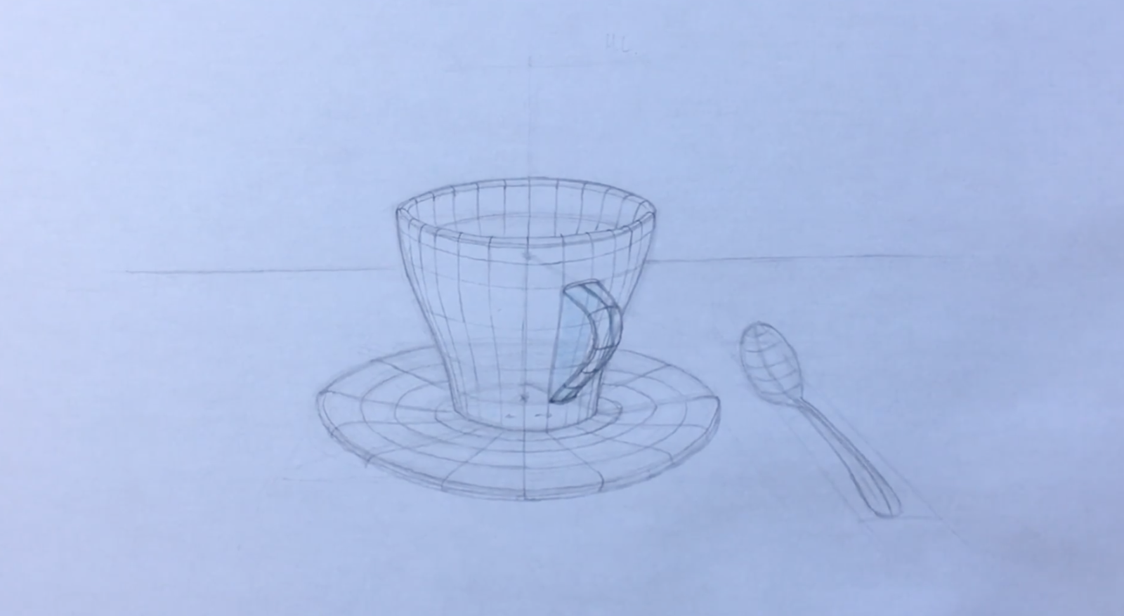 coffee cup drawing ideas for beginners