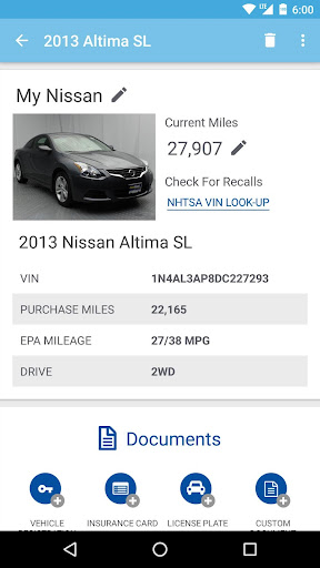 CarMax OwnersPlus Screenshot