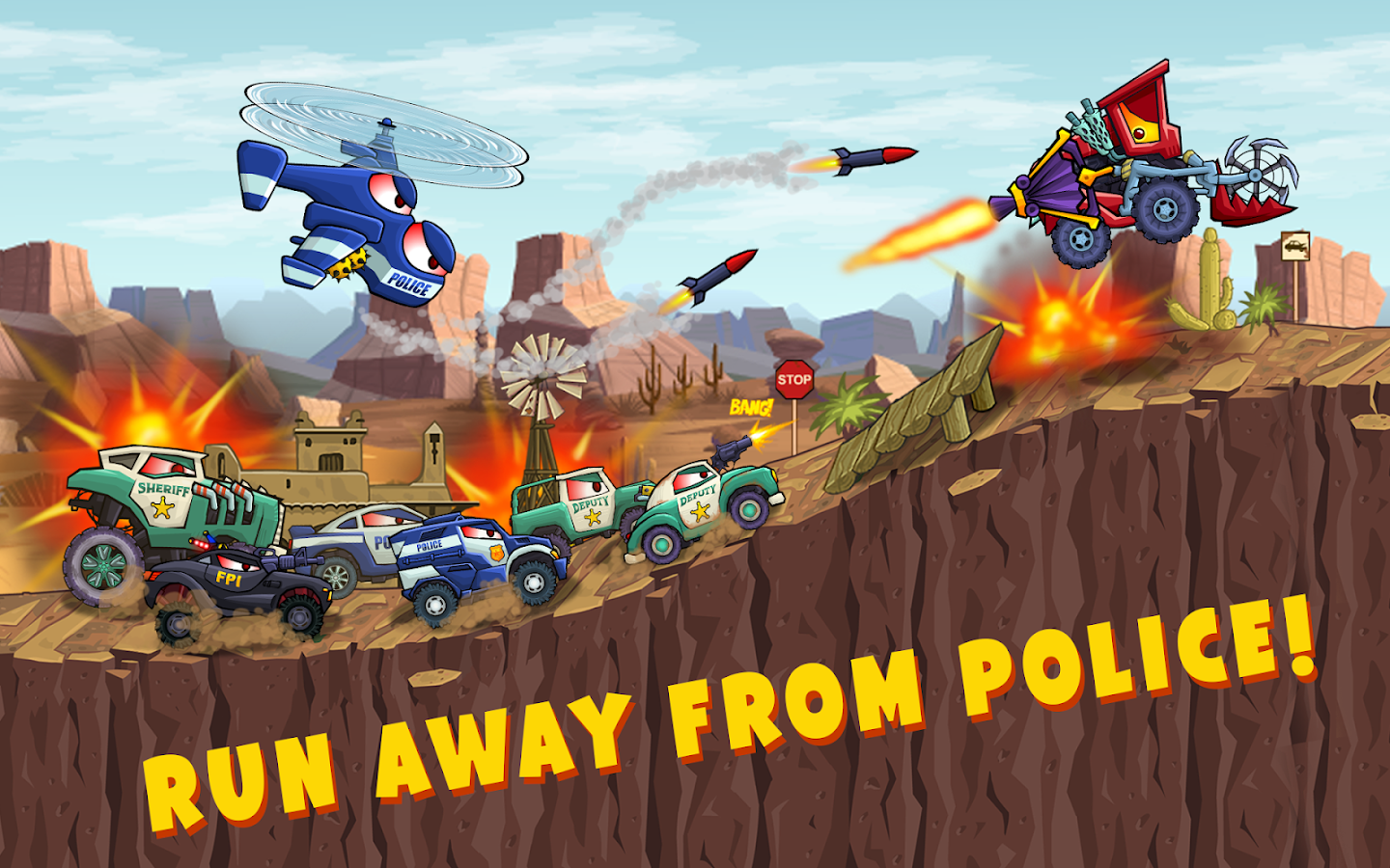 Car Eats Car 3 – Racing Game- screenshot