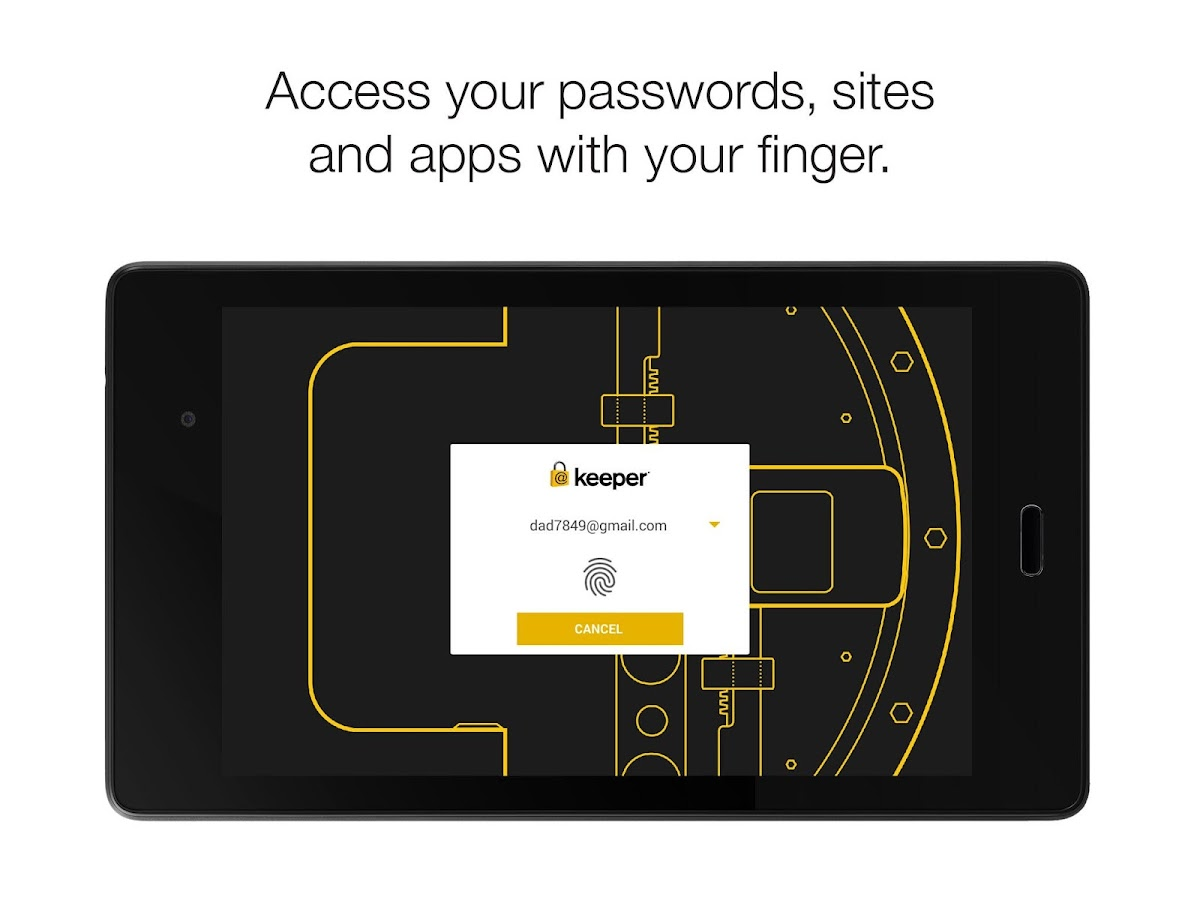 Keeper®: Free Password Manager- screenshot