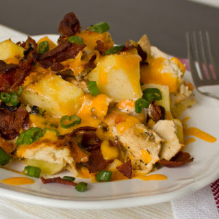 Cheesy Potato Bacon Casserole