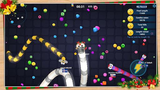 Code Triche Serpent aux bonbons APK MOD screenshots 5