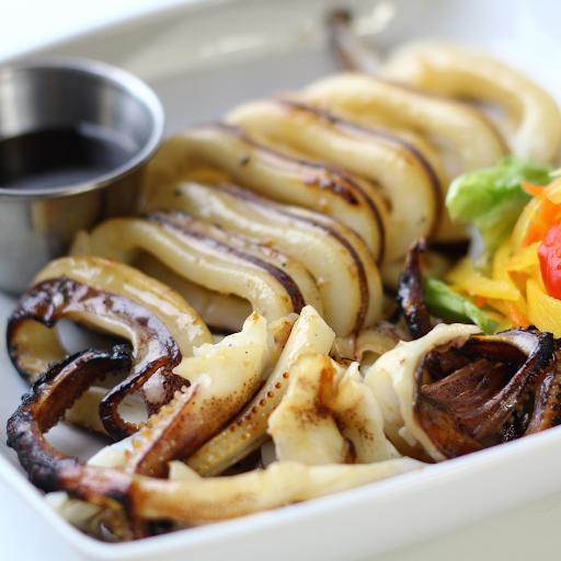 Grilled Squid | Inihaw Pusit Rice Combo