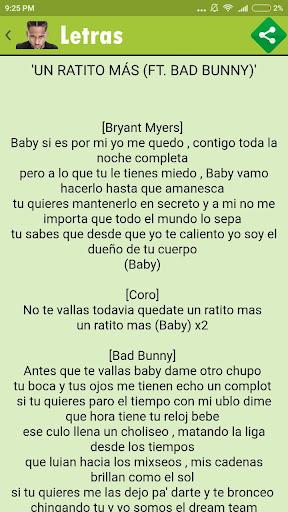 Download Bryant Myers Canciones Y Letras Google Play Softwares