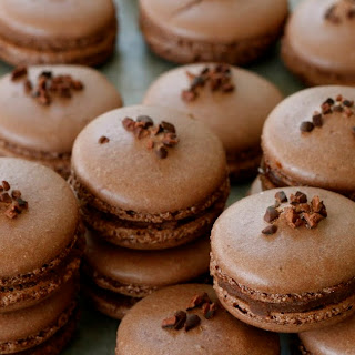 Death by Chocolate Macarons