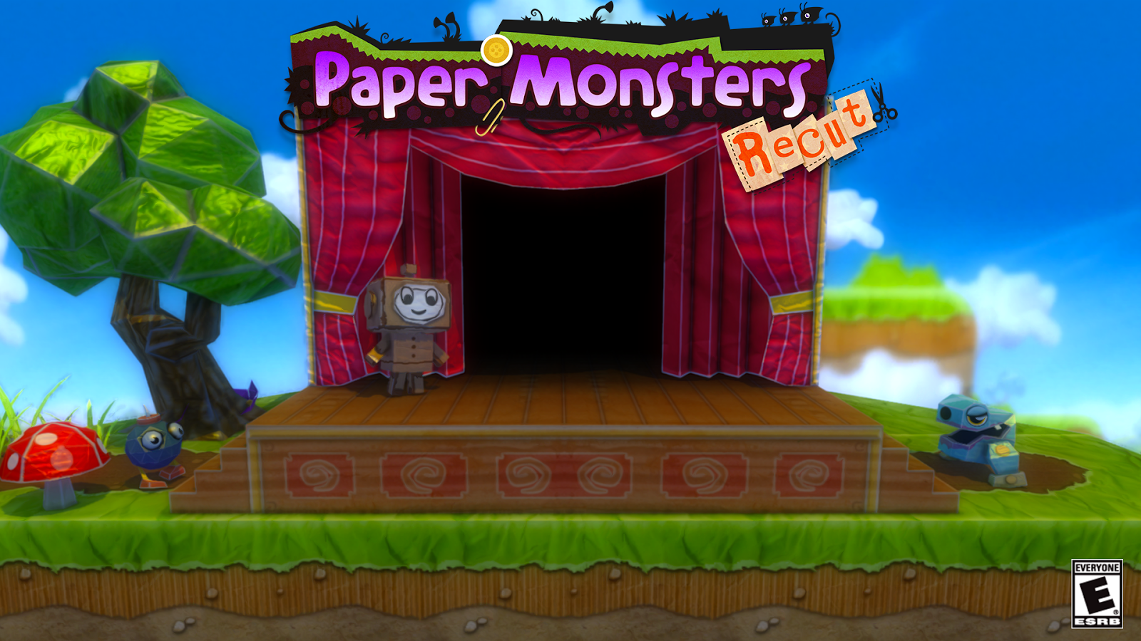 Paper Monsters Recut Deluxe- screenshot