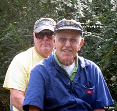 Photo: Doug Payne and Bob Jackson    SWLS at HALS 2009-1107