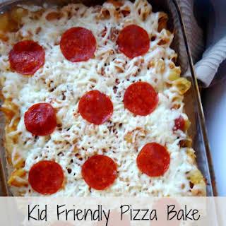 Kid Friendly Pizza Bake.