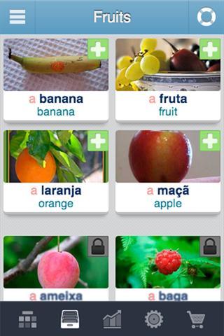 Learn Portuguese - 3,400 words screenshot 1