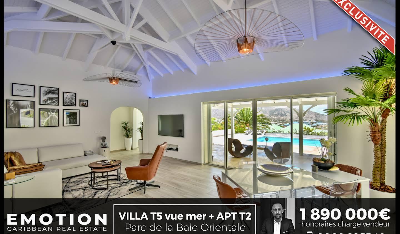 Villa avec piscine et terrasse Saint-Martin