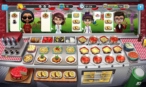 Food Truck Chefu2122: Cooking Game  mod screenshots 3