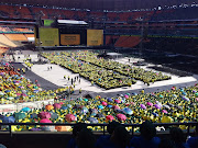 FNB stadium fills up for a national prayer day organised by the Motsepe Foundation