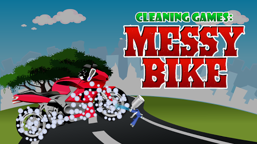 Cleaning Games : Messy Bike 1.0.0 screenshots 6
