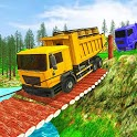 Off Road Indian Heavy Cargo Truck Hill Simulator icon