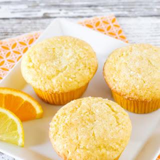 Gluten Free Vegan Sunshine Citrus Muffins.