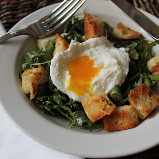 Poached Egg Salad.