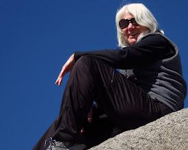 Photo: On the Glacier Point portrait-rock  :-)  Donna. #2827
