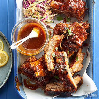 Oven-to-Grill Baby Back Ribs.