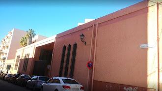 Fachada de la Iglesia de Santa María Magdalena en Los Molinos.