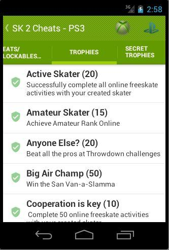 Cheats for skate 3, 2 and 1 apk download   apkpure. Co.