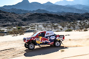 Reigning Dakar champion Nasser Al-Attiyah was the early pace-setter on stage one, but fell back due to punctures.