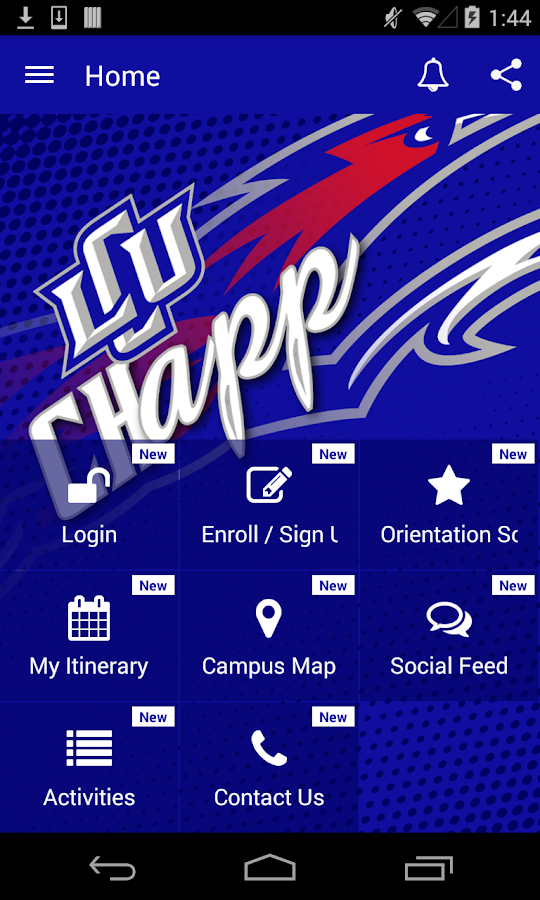 LCU Chapp- screenshot