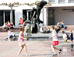 Photo: Day 29 - The Fountain in Neuenburg