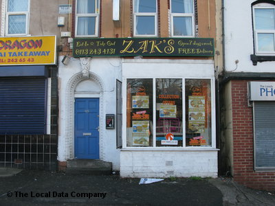 Zaks On Woodsley Road Fast Food Takeaway In Little