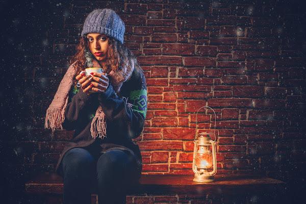Una bevanda calda per combattere il freddo di una notte invernale di Mutley
