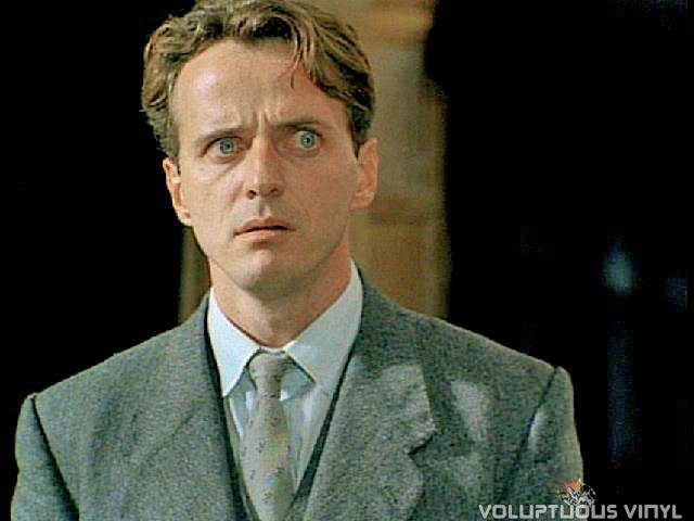 Aidan Quinn has his mind blown in the film Haunted.