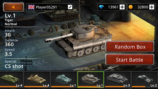 Battle Tank 2 Mod Apk (Unlimited Money) 4