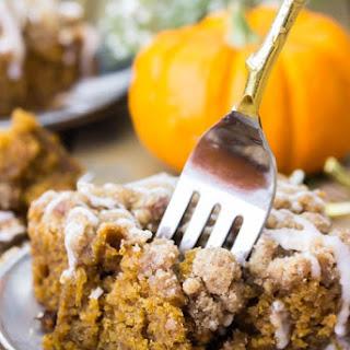 Pumpkin Crumb Cake.