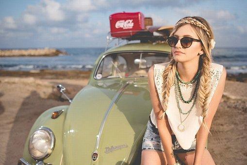 Beach, Beautiful, Beetle, Classic Car