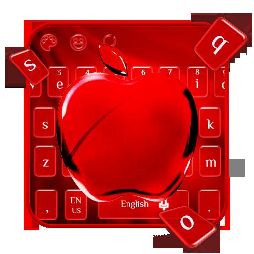 Red cherry keyboard theme