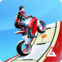 Gravity Rider: Space Bike Racing Game Online icon